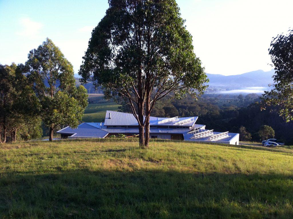 landscape integrated eco house