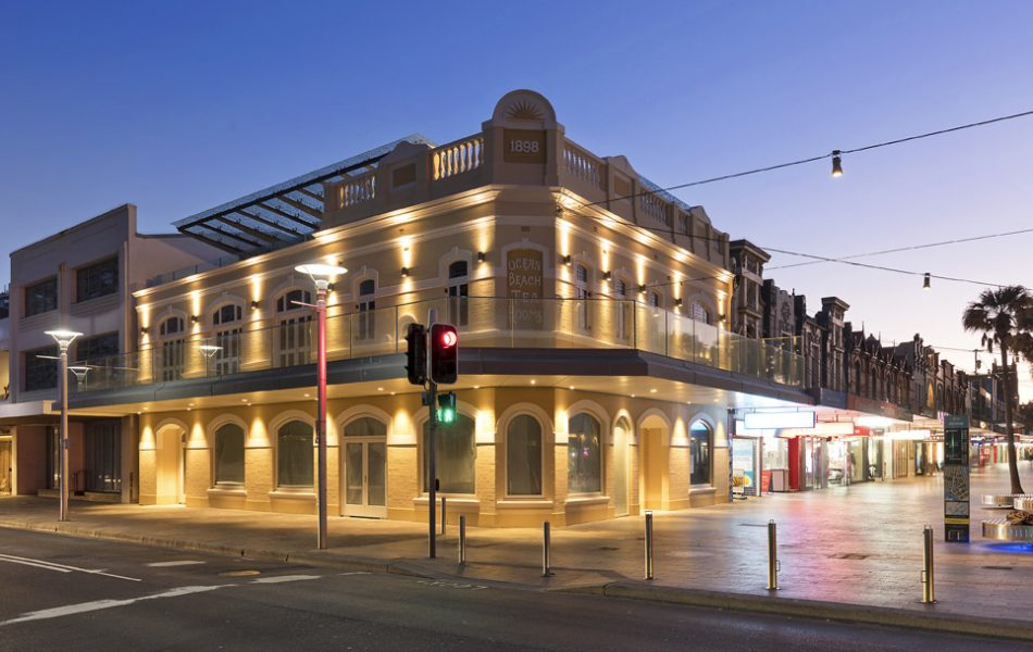 Mixed Use Architecture, Office, Retail, The Corso, Manly, Baxter & Jacobson Architects