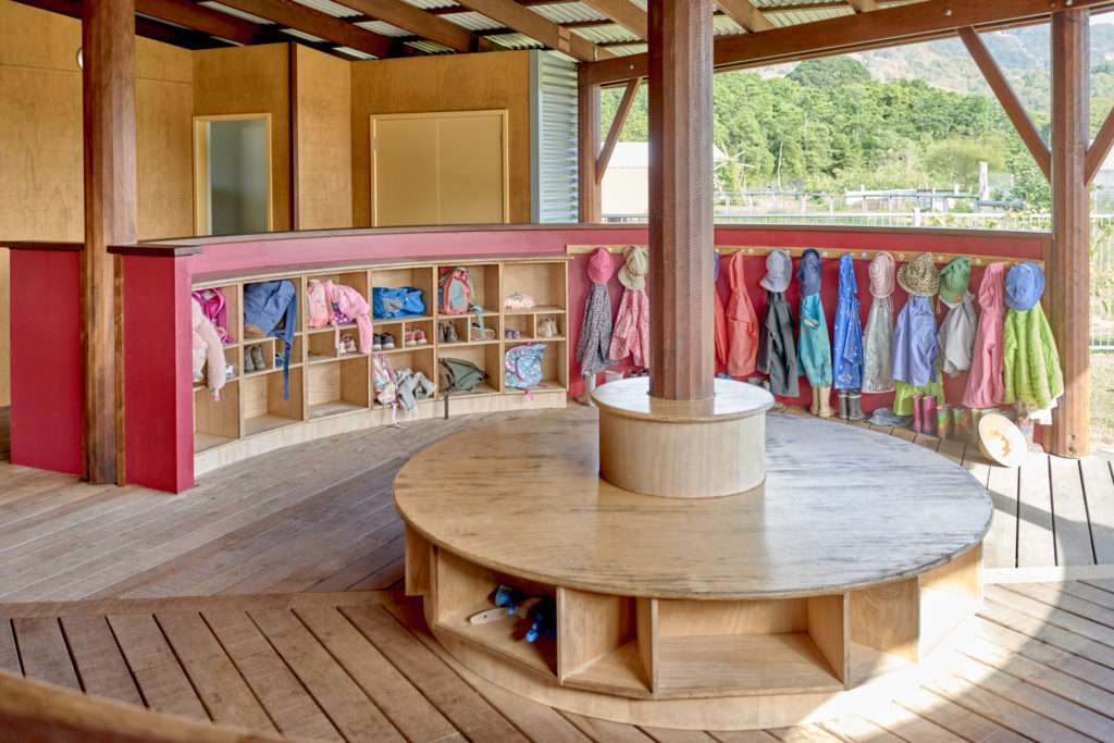 Early Childhood Coat and Bag Store