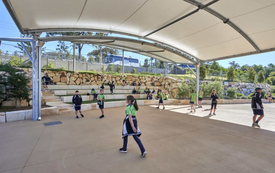 Amphitheatre outdoor teaching and play